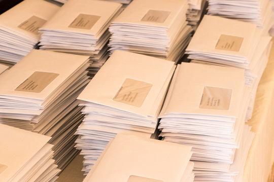 Briefe als Werbebrief per Post an Geschäftsfreunde