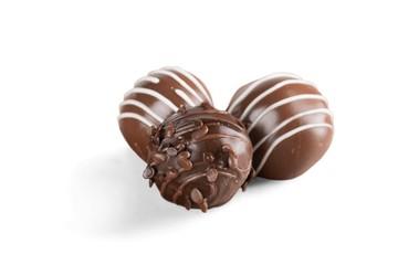 Milk chocolate candy / praline / truffle
