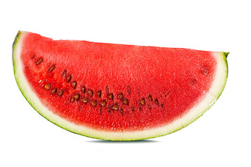 Fresh watermelon isolated on white background with clipping path