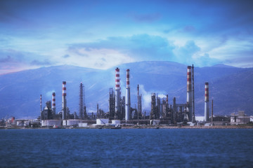 Tupras Oil Rafinery - Izmit Gulf - Turkey