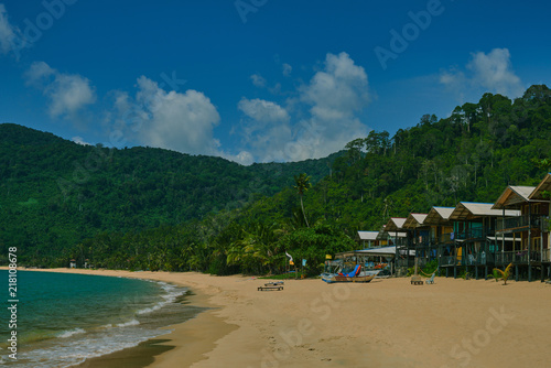Beach Scenetropical Beach Landscape For Background Or Wallpaper