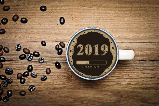 2019 Kaffee Ladebalken