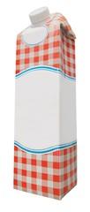 Milk Carton with Custom Design