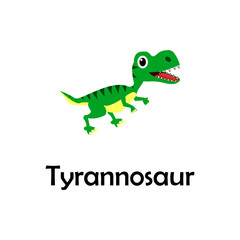 tyrannosaur illustration. Element of travel icon for mobile concept and web apps. Thin line tyrannosaur icon can be used for web and mobile. Premium icon
