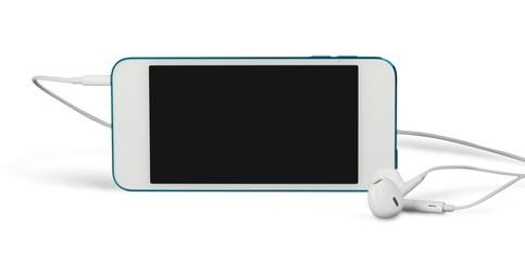 Smartphone with Earphones
