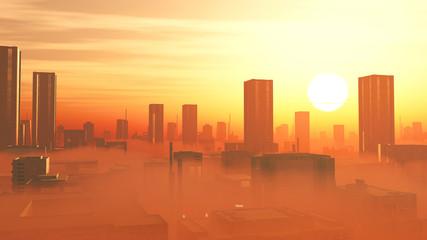Hitze und Smog in der Stadt - Klimawandel