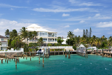 Luxury Villa, Paradise Island, Nassau, the Bahamas.