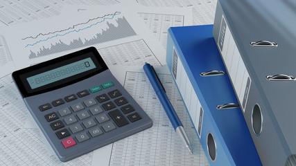 Obraz Accounting v3 - fototapety do salonu