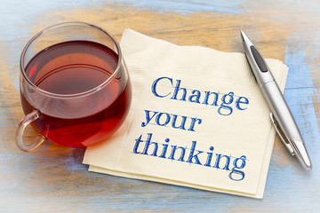 Change your thinking advice