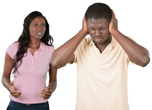 Portrait of an Arguing Couple