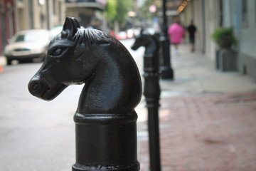 Horse Hitching Post