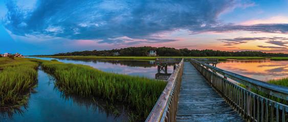 Marsh Channel Sunrise 2