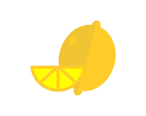 Lemon image vector icon logo