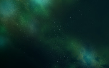 Abstract beautiful galaxy background