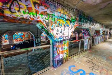 Krog Street Tunnel Wall Art