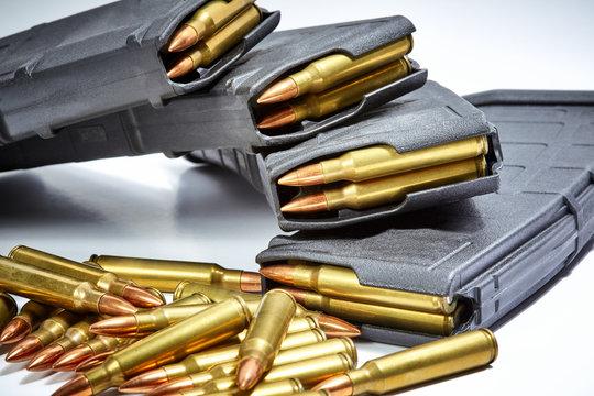 Full Metal Jacket Ammunition with Magazines