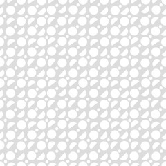 Random geometric background. Seamless pattern.Vector. ランダム円形パターン