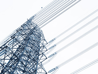 High voltage post Power line High voltage tower Industry