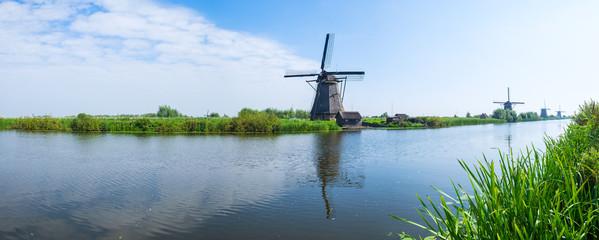 Dei Windmühlen von Kinderdijk