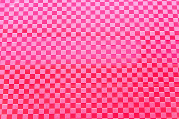 Red plastic pattern as background