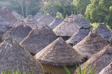 Village of the Kogi Indians in the mountains of the Sierra Nevada - Santa Marta/ Magdalena/ Colombia