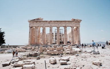 Parthenon-Acropolis-Athens-Greece