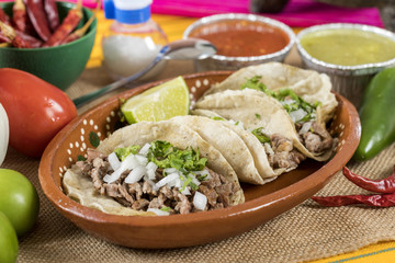 Typical Mexican cuisine