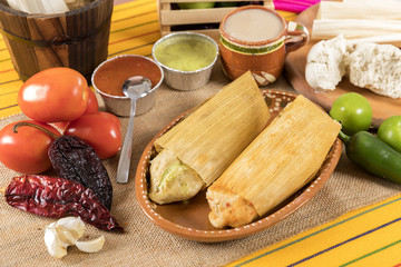 Wall Mural - Typical Mexican cuisine