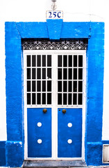 Blue arab door