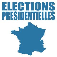 Logo élections présidentielles.