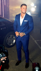 Contestant Dan Osborne arrives as the reality show 'Celebrity Big Brother' starts, in Elstree