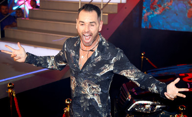Contestant Ben Jardine arrives as the reality show 'Celebrity Big Brother' starts, in Elstree