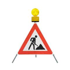Baustelle Baustellenschild Gefahrenzeichen