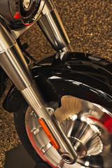 Exotic Motorcycle Design  - Harley - Hog - Stainless Steel Retro Styling