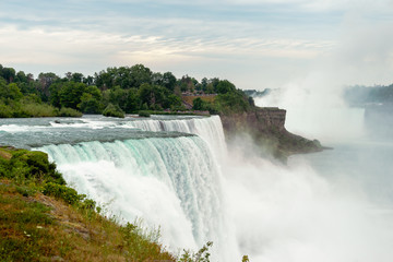 Looking South at Niagara Falls