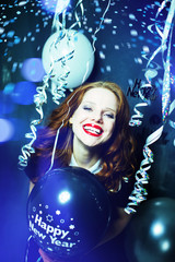 happy new year red hair beauty
