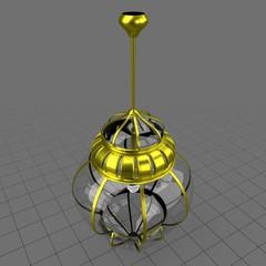 Moroccan round pendant light
