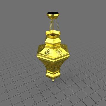 Vintage moroccan pendant chandelier