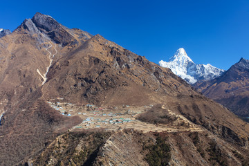 Amazing mountains on Himalayas.