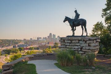 Kansas City Morning | Scout Statue