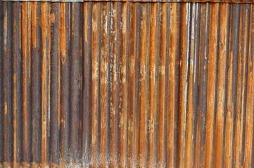 zinc wall