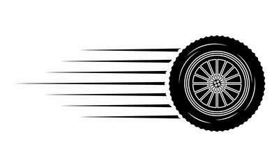 industry automotive wheel car part fast speed Fototapete