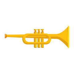 trumpet instrument musical icon