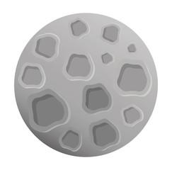 moon satellite space icon