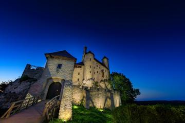 Mediaeval castle in Poland