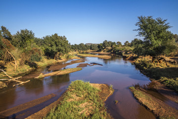 Luvuvhu river in Pafuri, Kruger National park, South Africa