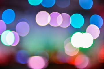 colorful festival lights background