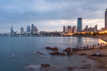 Qingdao City Scenery coastline