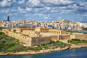 Photo sur Aluminium Fortification Fort Manoel in Malta