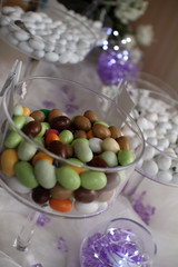 candy at wedding party